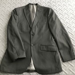 Men's Striped Suit Jacket